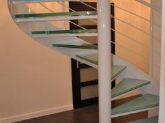 Piotrków - schody kręte - widok ogólny